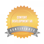 Certified Content Development Virtual Assistant - Second Self Virtual Assistance