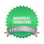 WordPress Foundations Certified - Second Self Virtual Assistance