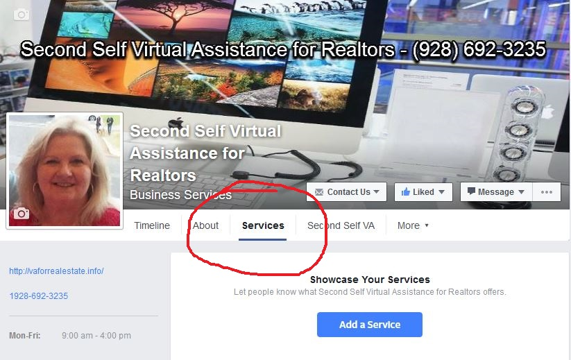 Showcase Your Services on Facebook