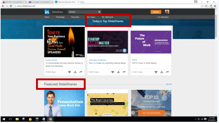 How to Use Slideshare for Business