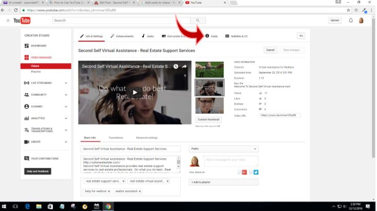 How to Add YouTube Cards to Your Videos