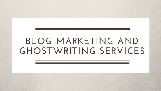 Blog Marketing and Ghostwriting Services - Second Self Virtual Assistane