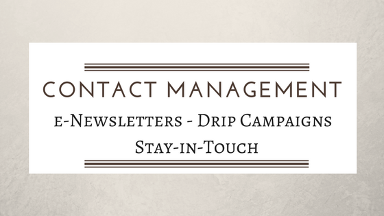 Contact Management - Newsletters - Drip Campaigns - Second Self Virtual Assistance