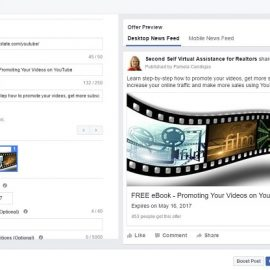 How to Create An Offer on Facebook