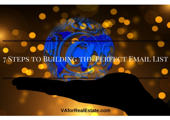 7 Steps to Building the Perfect Email List