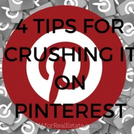 4 Tips for Crushing it on Pinterest