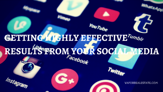 Getting Highly Effective Results from Your Social Media -