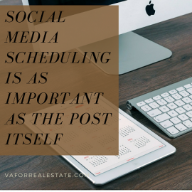 Social Media Scheduling is as Important as the Post Itself