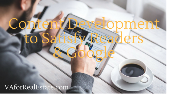 Content Development for Readers and Google