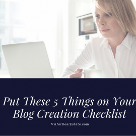 5 Things to Add to Your Blog Creation Checklist