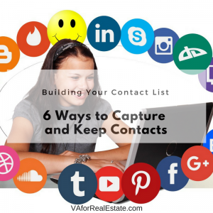 6 ways to Capture and Keep Your Contacts