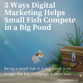 5 Ways Digital Marketing Helps Small Fish Compete in a Big Pond