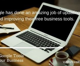 Why Pay for Ads?  Google Tools for Business are Free!