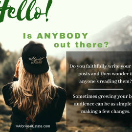 Growing Your Blog Audience: Hello! Is Anybody Out There?