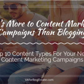 There is More to Content Marketing Than Blogging