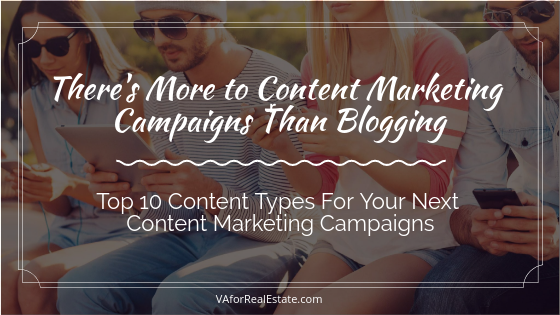 There's More to Content Marketing Campaigns Than Blogging