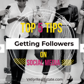Top 5 Tips for Getting Social Media Followers