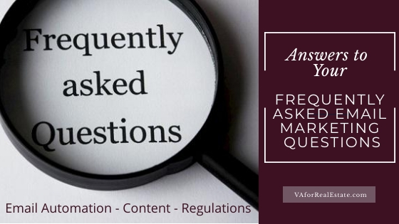 FAQs for Email Marketing