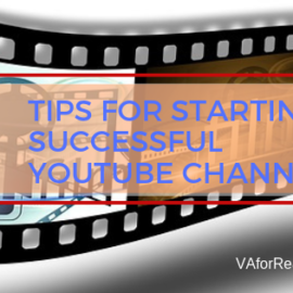 5 Tips for Starting a Successful YouTube Channel