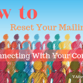 How to Reset Your Mailing List and Reconnect With Your Contacts