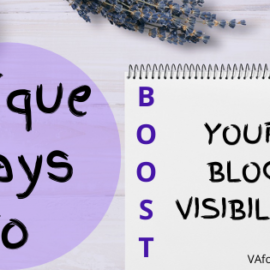 Unique Ways to Boost Your Blog Visibility
