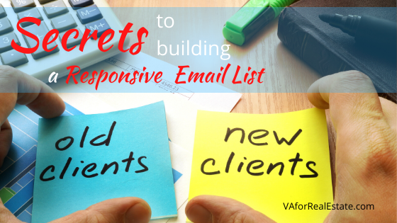 Secrets to Building a Responsive Email List