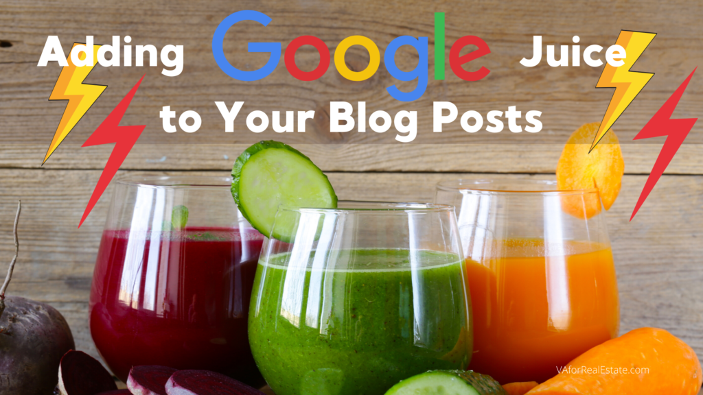 Add Google Juice to Your Blog Posts and Articles
