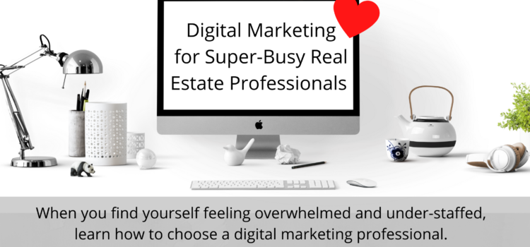 Digital Marketing for Super Busy Real Estate Professionals