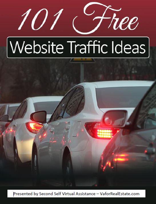 101 Free Ways to Increase Website Traffic