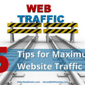 5 Tips for Maximum Website Traffic