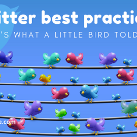 Twitter Best Practices: Here's What a Little Bird Told Me