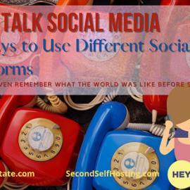 Let's Talk Social Media: 6 Ways to Use Different Social Media Platforms