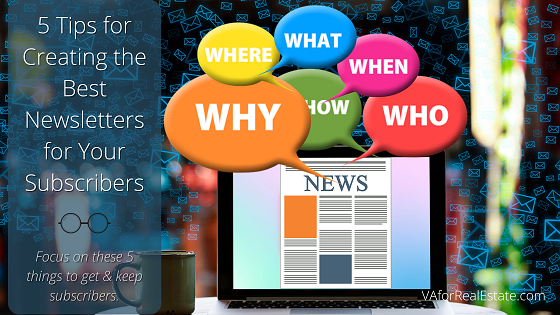 5 Tips for Creating the Best Newsletters for Your Subscribers