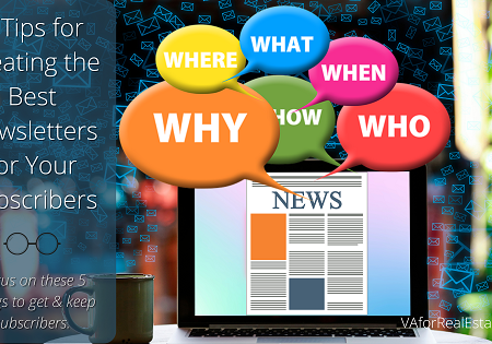 5 Tips for Creating the Best Newsletters for Subscribers
